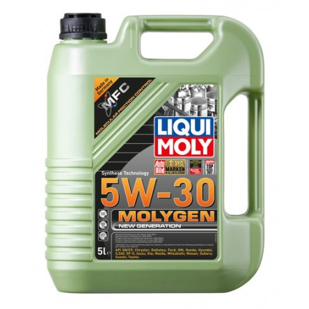 ACEITE MOLYGEN 5W30 New Generation